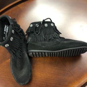 Minnetonka Ankle Boots.